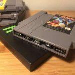 Mini-Consola NES con cartuchos